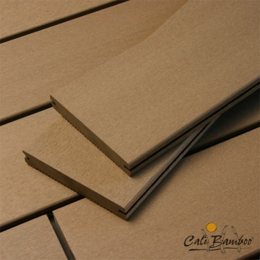 """1"""" x 6"""" Composite Bamboo Decking - Coffee"""