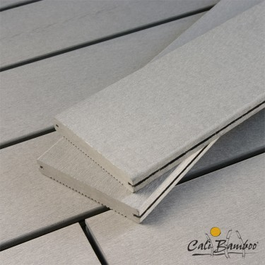 "1"" x 6"" Composite Bamboo Decking - Slate"